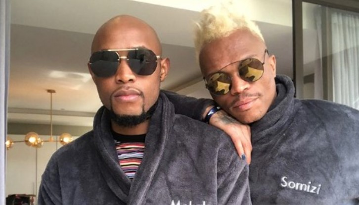 Mohale And Somizi Are Having The Fun of Their Lives Together