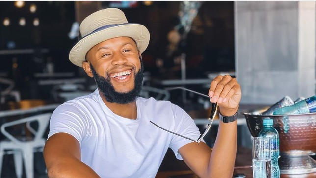 Mohale Motaung takes the job of a radio presenter